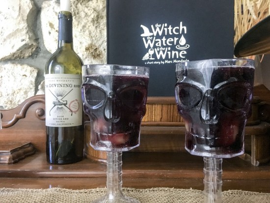 Divine Witches Brew Sangria with the Divining Rod Wines #DrinkUpWitches