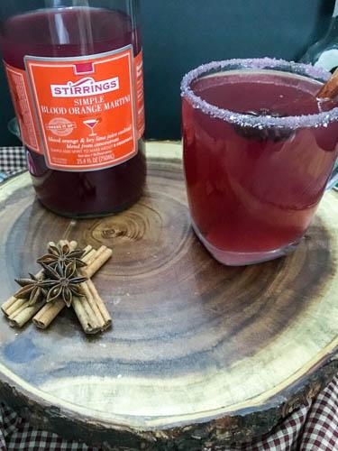 Blood Orange Toddy Cocktail Recipe