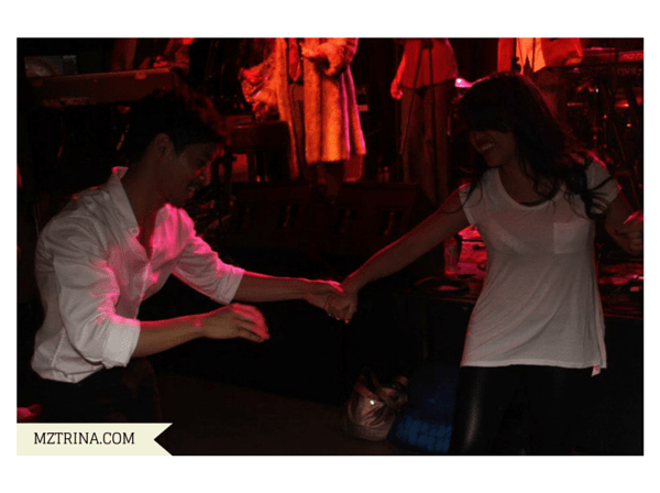 MZTRINA.COM Rod and Trina dancing