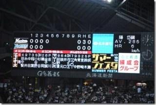 札幌ドーム ダイヤモンドシート