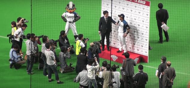 2012年 日本シリーズ第4戦