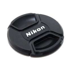 Small Crop Of Nikon Lens Cap