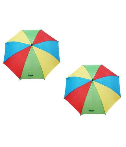 Modgen Multicolour Polyester One Fold Kids Umbrella