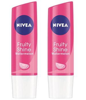Nivea Fruity Shine Watermelon Lip Balms 4.8gm