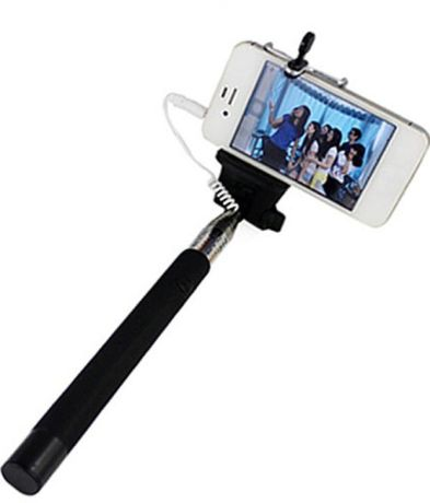 Callmate Foldable Bluetooth Selfie Stick with Aux Cable