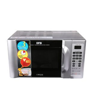 IFB 17Ltr 17PG3S Grill Microwave Oven Metallic Silver