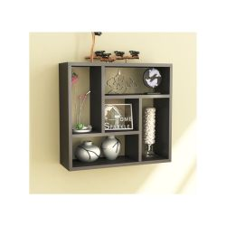 Distinctive Ile Black Square Floating Wall Shelf Book Shelf Decoration Shelf Ile Black Square Floating Wall Shelf Book Shelf Square Floating Shelves Argos Large Square Floating Shelves