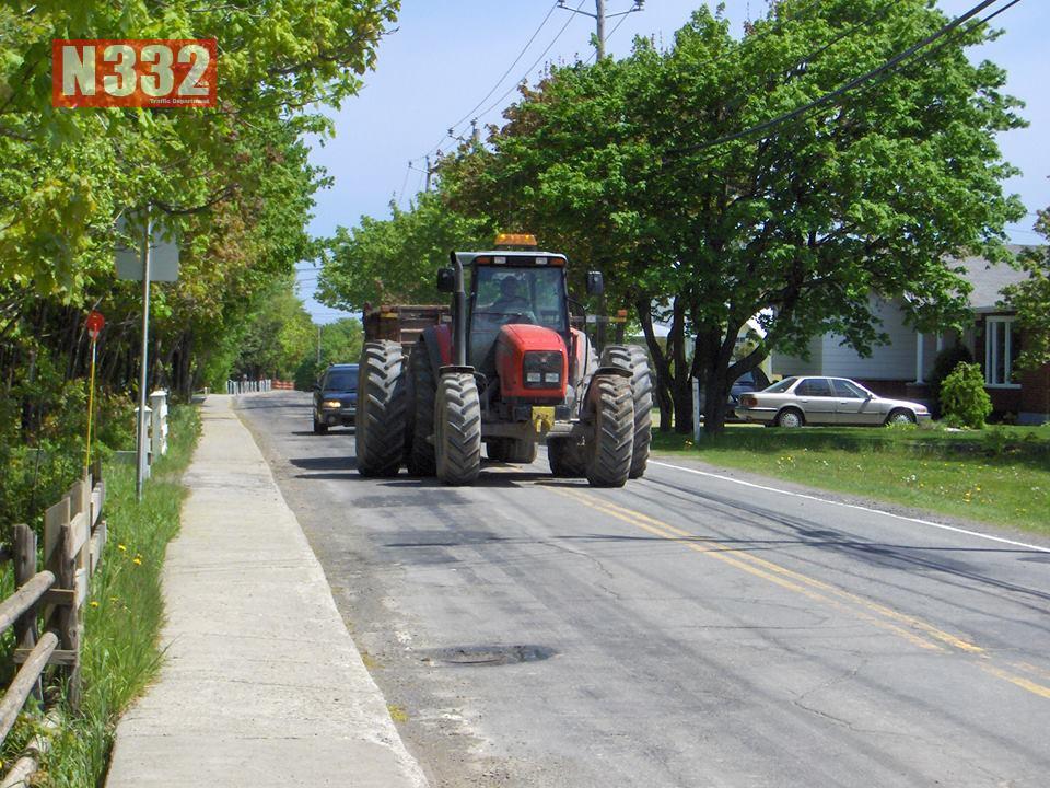 Overtaking Slow Moving Vehicles