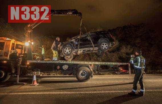 Multi-Vehicle Crash at Santa Pola