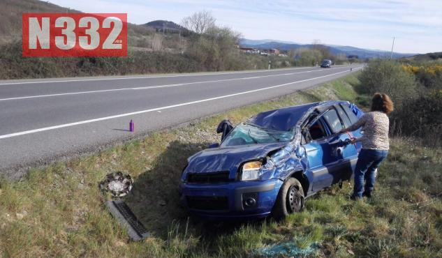 Guardia Civil Investigate Overtaking Smash