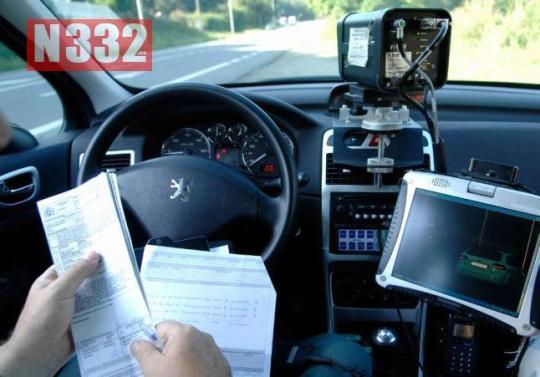 20150513 - Angry Speeder Rams Radar Car