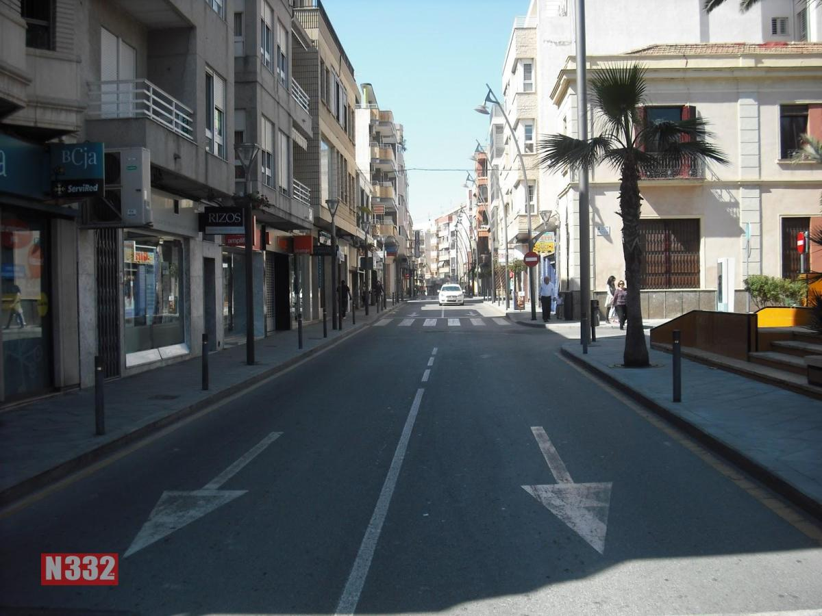 Parking Restrictions in Torrevieja Centre