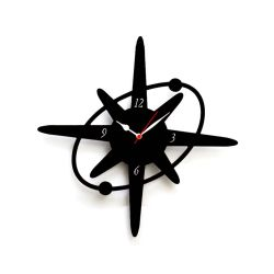 Small Crop Of Star Shaped Wall Clocks