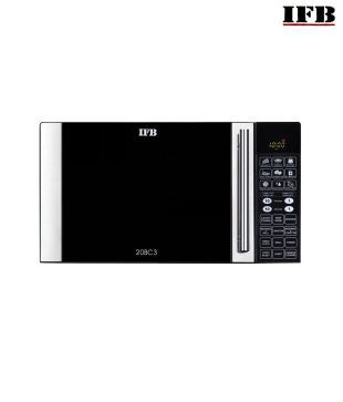 IFB 20Bc3 (Black) Convection 20 Ltr Microwave Oven