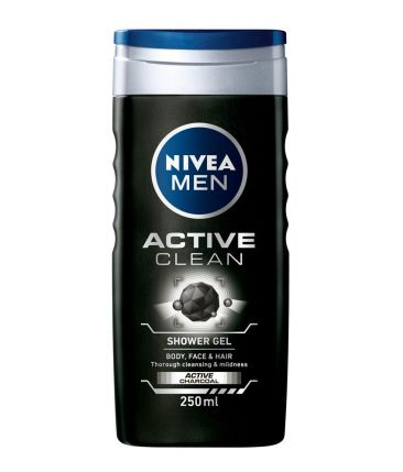 Nivea Men Active Clean Shower Gel 250 ml