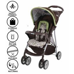 Small Crop Of Graco Literider Click Connect Stroller