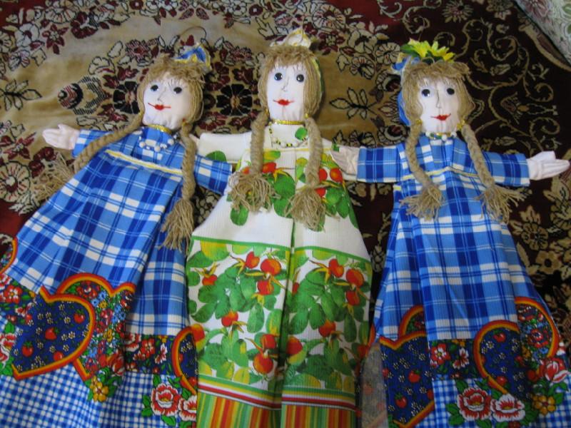 Куклы из полотенца