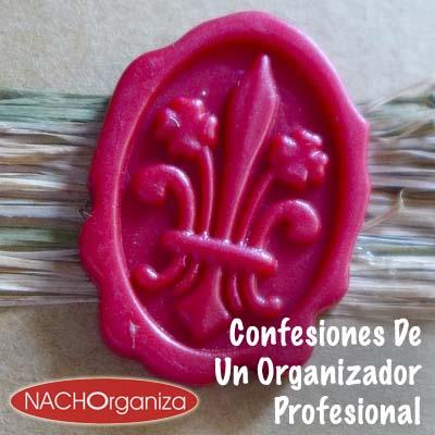 Confesiones De Un Organizador Profesional