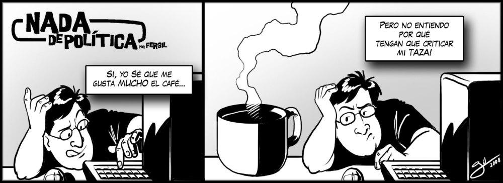 Nada de Política - Bendito café