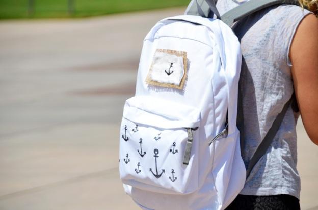Надписи на рюкзаках своими руками