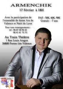 Armenchik et Ensemble de danse Nairi