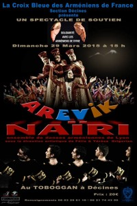 Spéctacle Arevik et Nairi