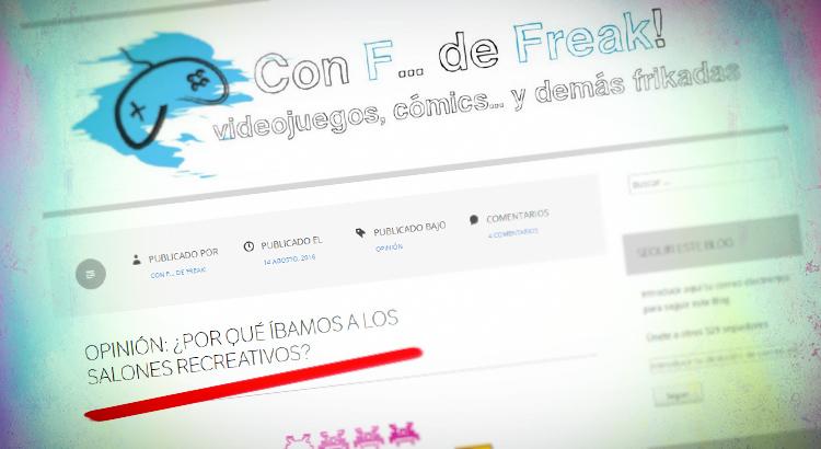 Con F de Freak, un Blog Imprescindible