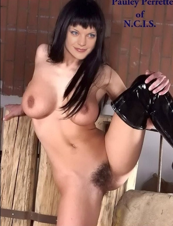 pauley perrette naked and her pussy