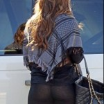 Sofia Vergara See-Through Pants Oops