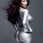 "Kim Kardashian Naked in ""W Magazine"""