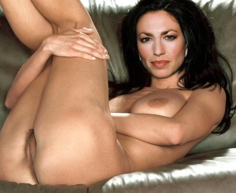 nude Claudia fakes black
