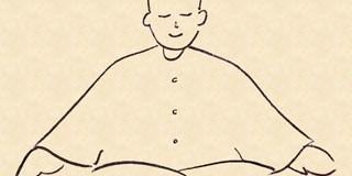 Meditando em casa