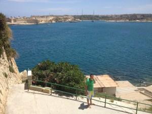 A vista de Valletta - Linda!