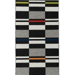 Fibonacci Runner - handwoven wool rug by Nancy Kennedy