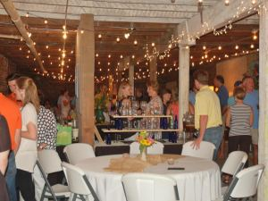 The Arts, Beats and Eats event was held Friday night at The Basement at the Tanglefoot Trailhead in downtown New Albany.