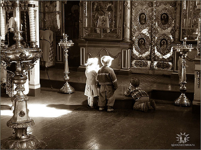 дети-в-храме