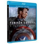 Caixa do Blu Ray do Filme Capitão América.