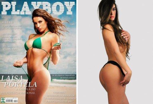 Laisa na Playboy