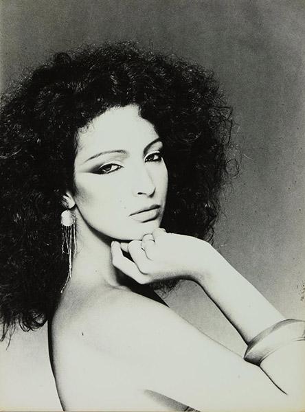 Em 1975 fotografada por Antonio Guerreiro