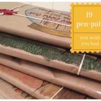 19 pen pals you wish you had