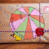 Teeny tiny mail-art