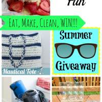 Mini Greenhouse+ Summer Fun 7 + two giveaways