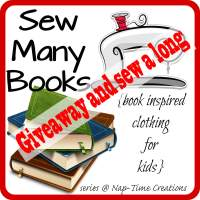 Sew Many Books Giveaway and Sew a Long
