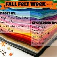 Fall Felt Week GIVEAWAY!