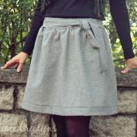 Wool Skirt Pattern and Tutorial