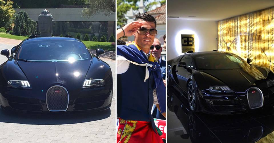 foto cristiano ronaldo se po astio automobilom vrijednim. Black Bedroom Furniture Sets. Home Design Ideas