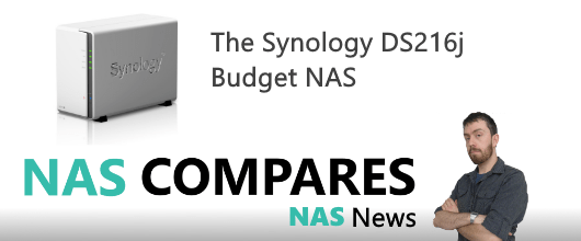 The Synology DS216J NAS release 2016 on NASCompares.com News