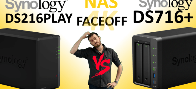 The Synology DS716+ vs DS216PLAY 4K NAS compare