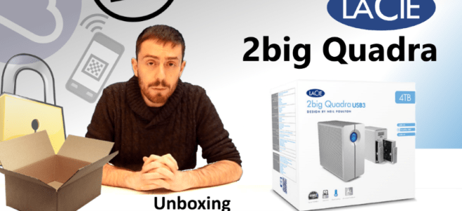 The LaCie 2big Quadra USB 3.0 and Firewire 800 Unboxing, Walkthough and Talkthrough for Mac Users