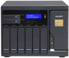 The QNAP TVS-882T-i5-16G Thunderbolt NAS with PCIe slots and DDR4 RAM